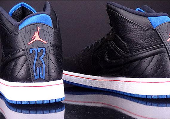 232681dc21ec air jordan 1 retro 99 black sport blue