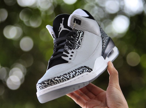 Another Look at the Air Jordan 3 Wolf Grey