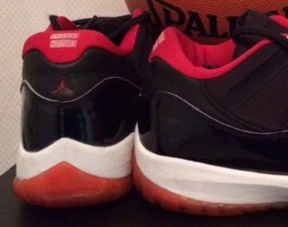 Air Jordan 11 Low: Black/Red PE for Michael Jordan
