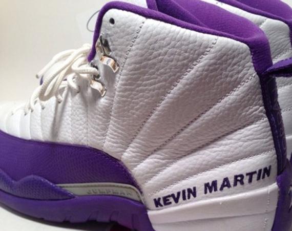 Air Jordan 12: Kings PE for Kevin Martin on eBay