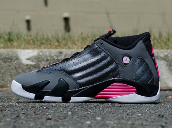Air Jordan 14 GS: Hyper Pink   Arriving at Retailers