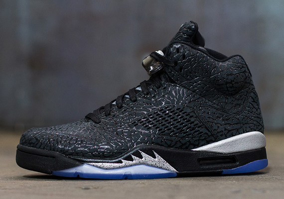 Air Jordan 3Lab5: Black/Metallic   Release Reminder