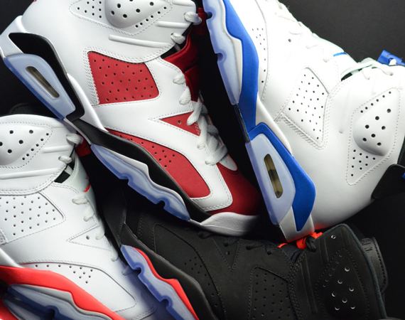 A Look at Jordan Brands 2014 OG Air Jordan 6 Releases