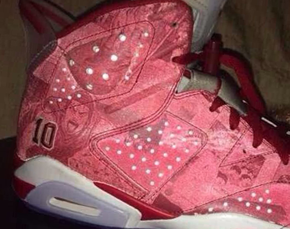 """... iteration of the Air Jordan 6 """"History of Jordan"""", but instead another  possible Air Jordan 6 release for 2014. The colorway, known as the """"Slam  Dunk"""", ..."""