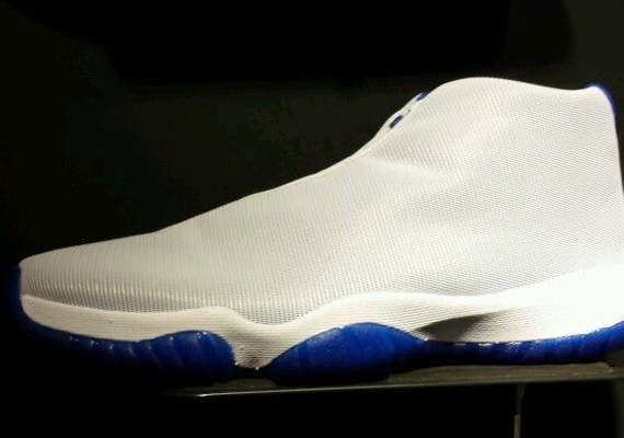 Air Jordan Future: Grey   Sport Blue