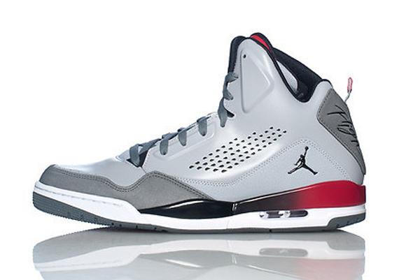 Jordan SC 3. Color: GreyBlack Red Style Code: 629877 002. Price: $125