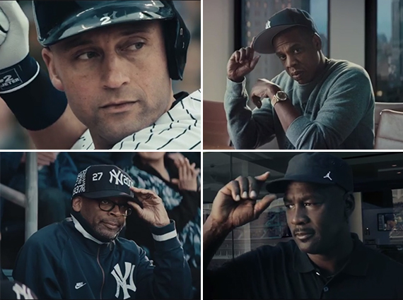 Michael Jordan, Carmelo Anthony & More Pay RE2PECT to Derek Jeter