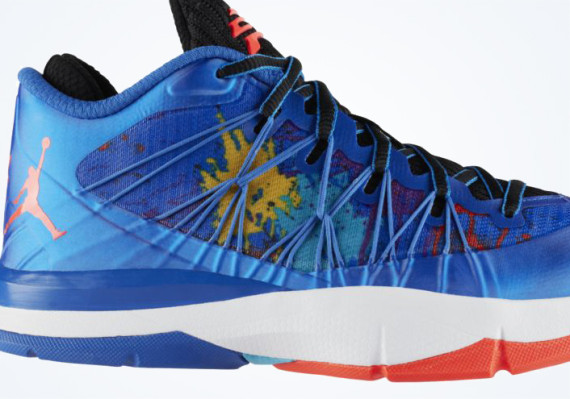 Jordan CP3.VII AE GS: Sport Blue   Black   Laser Purple | Available