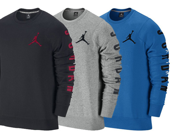 Jordan Flight Classic Fleece Crew Sweatshirt