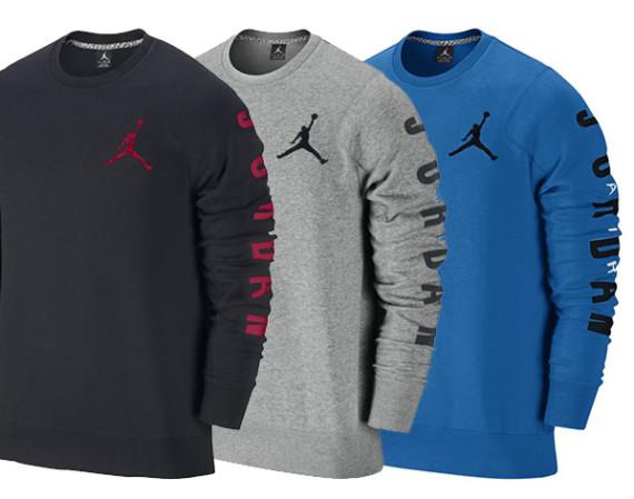 Jordan Flight Classic Fleece Crew Sweatshirt Air Jordans Release