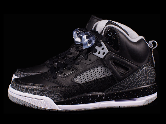 Jordan Spizike GS: Black   Cool Grey   Wolf Grey