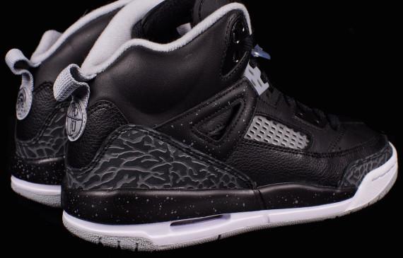 37d208ea5d18 Jordan Spiz ike GS Color  Black Cool Grey-Wolf Grey Style Code  317321-003.  Price   120