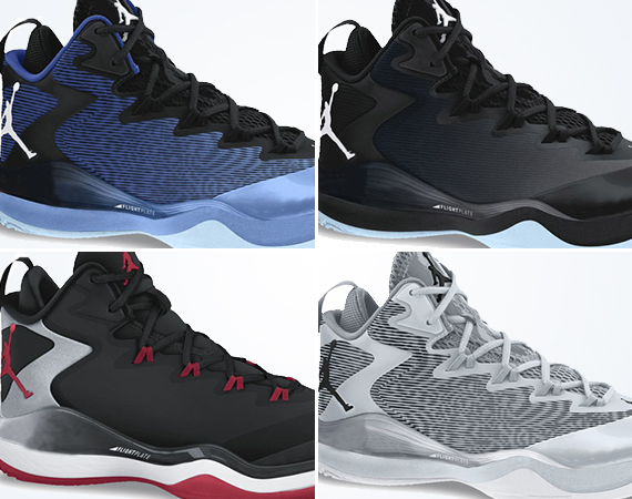 The Jordan Super.Fly 3 Debuts 7 New Colorways
