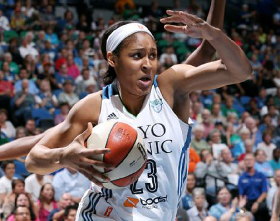 Jordan Brand Athlete Maya Moore Nets 48 Points   2nd Most in WNBA History