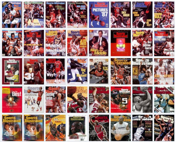 Michael Jordans 50 Sports Illustrated Covers   Available on eBay