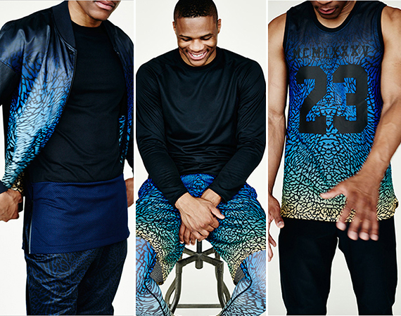 Russell Westbrooks Jordan Brand Collection for Barneys New York   Available