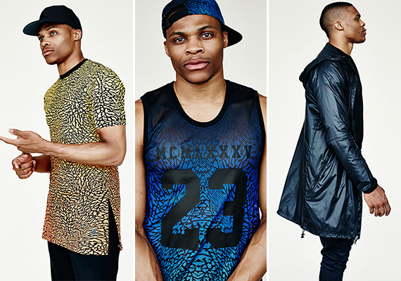 Russell Westbrooks Jordan Brand Collection for Barneys