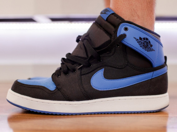 AIr Jordan 1 AJKO: Sport Blue   On Feet Preview