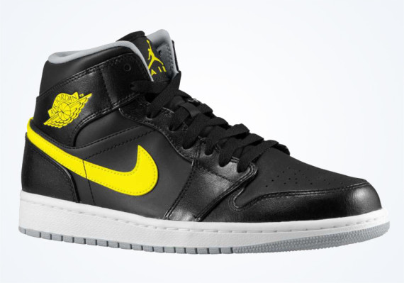 Air Jordan 1 Mid: Vibrant Yellow   Available