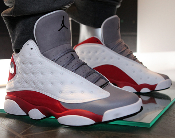 Air Jordan 13: Grey Toe for November 2014