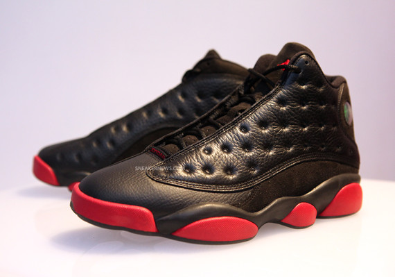 Air Jordan 13: Black/Red   Detailed Images of the December 2014 Release