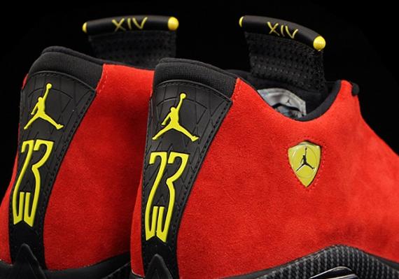 Air Jordan 14: Ferrari   Updated Release Info