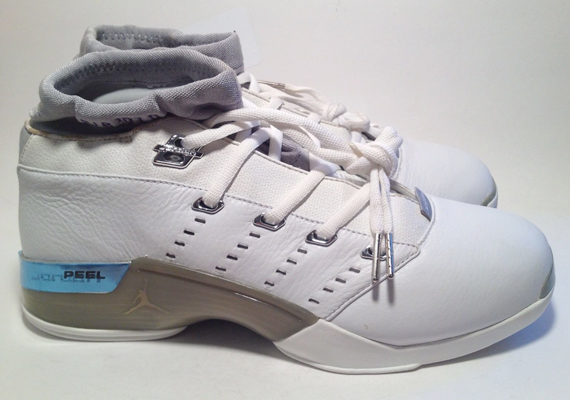 Air Jordan 17 Low: Mike Bibby Sacremento Kings PE   Available on eBay