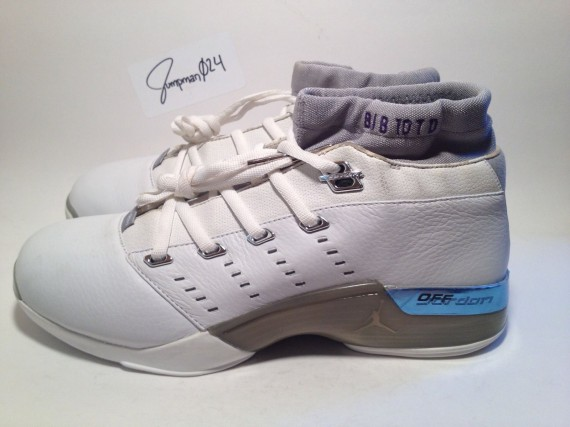 ccfef8c8c2a3 Check out more of this rare Mike Bibby PE after the click and if you  Mike Bibby  Air Jordan XVII 17 Low