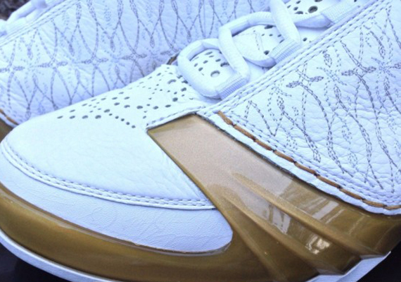 Air Jordan XX3: White/Gold Sample