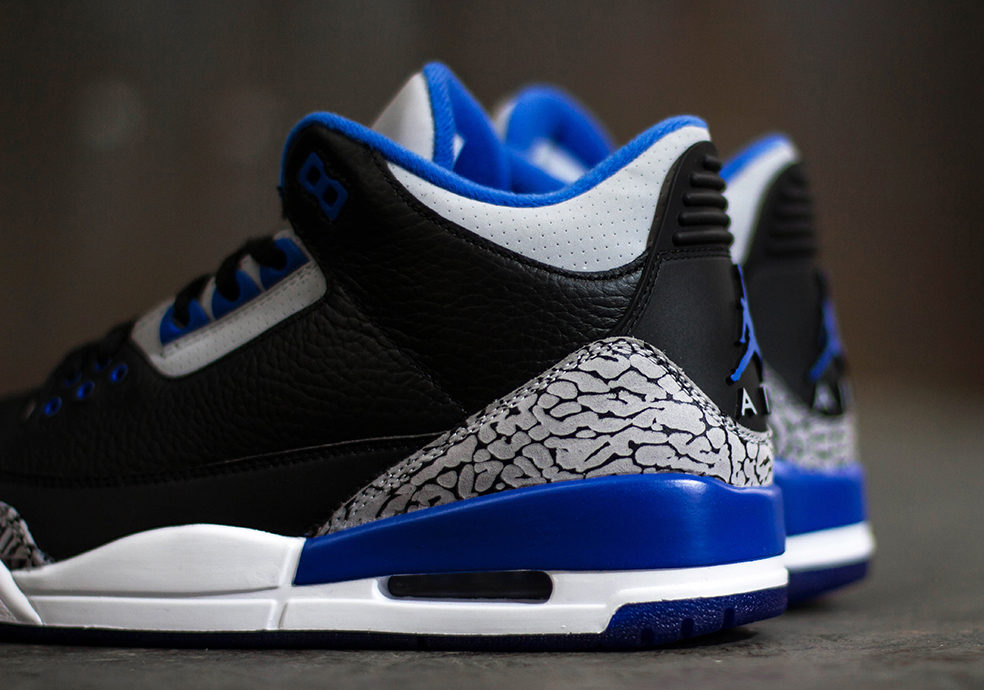 "3ea9ee73faef The Air Jordan 3 ""Sport Blue"" is arriving at retailers tomorrow"