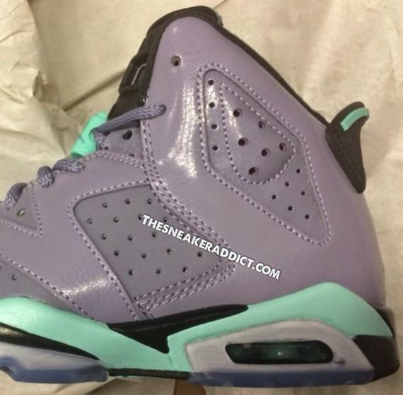 934fef1dfeea shop jordan 6 purple turquoise grey turquoise d7e2b a10ea