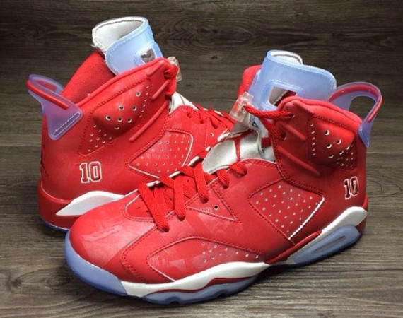 Air Jordan All Red 6