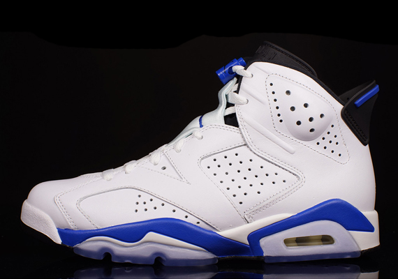 "3a8a374ac213a6 The Air Jordan 6 ""Sport Blue"" is headed to retail shelves tomorrow"