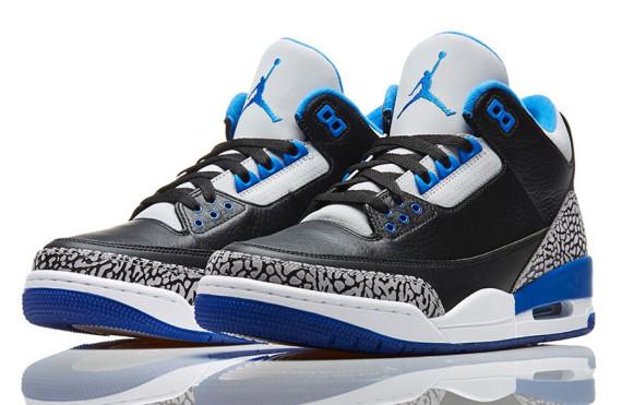 Air Jordan III: Sport Blue   Nikestore Release Info
