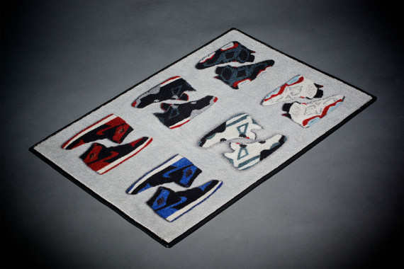 Air Jordan Retro Rug by Spilled