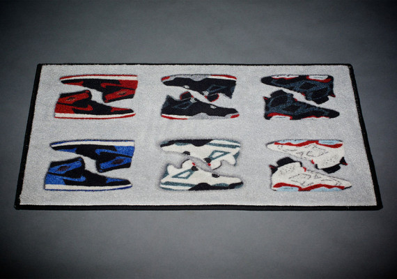 Air Jordan Retro Rug By Spilled Air Jordans Release Dates More