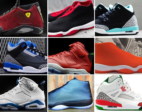 August 2014 Jordan Brand Releases