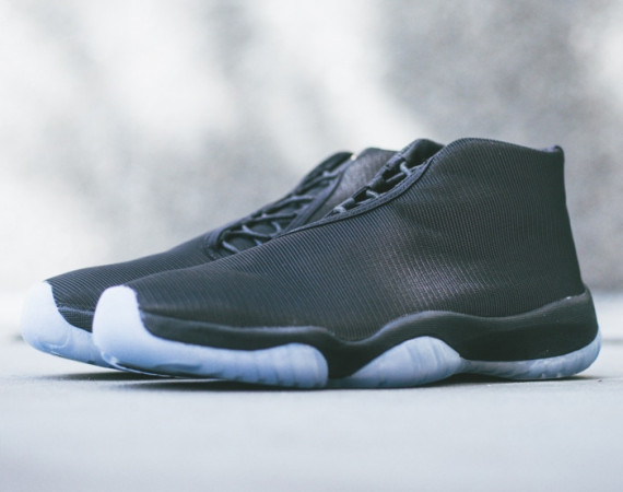 Jordan Future: Black/Reflective   Arriving at Retailers