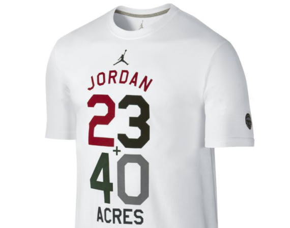Jordan 40 Graphic 1 Mens T Shirt