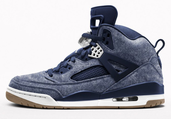 Jordan Spizike: 80s Denim Option on NIKEiD