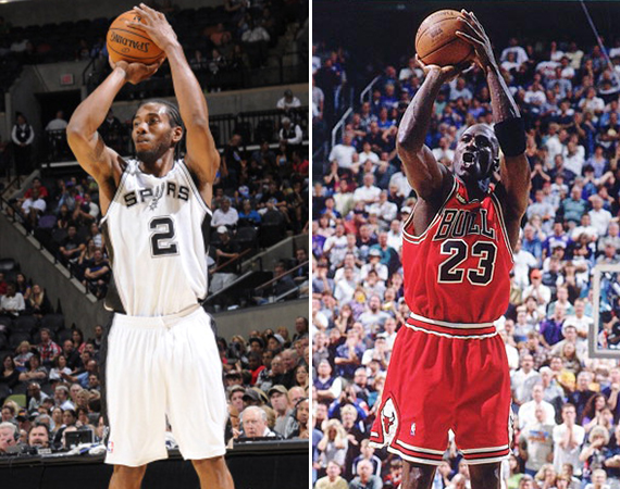 Kawhi Leonard Beats Michael Jordan in a Game of Hot Shot