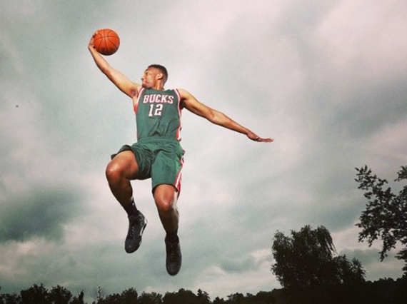 Jabari Parker, Shabazz Napier & Zach LaVine Showcase Air Jordan Retros at NBA Rookie Day