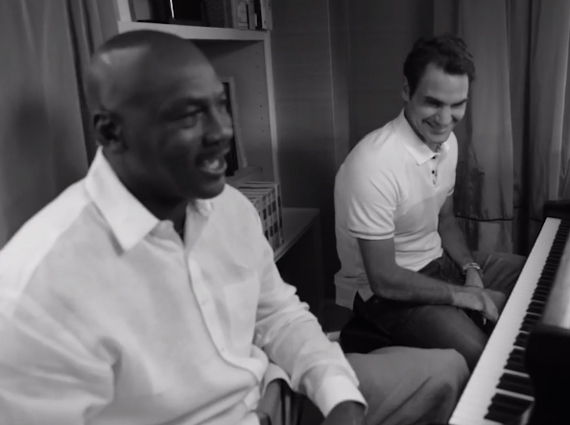 Michael Jordan and Roger Federer Hang Out in Latest Nike Tennis Teaser