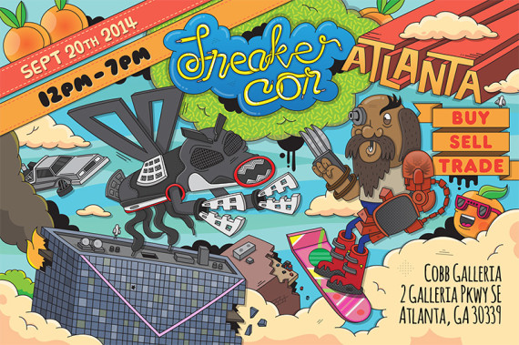 Sneaker Con: Atlanta   Saturday, September 20th