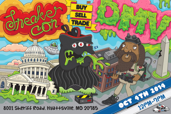 Sneaker Con: Washington DC/DMV   October 4th, 2014