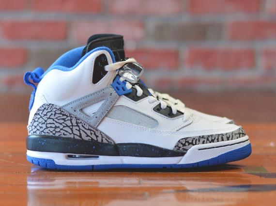 Jordan Spizike GS: Sport Blue   Release Date