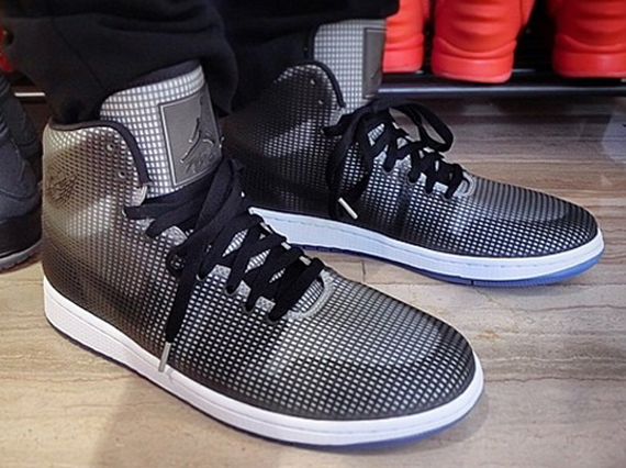 An On Feet Preview of the Air Jordan 4Lab1 Black/White