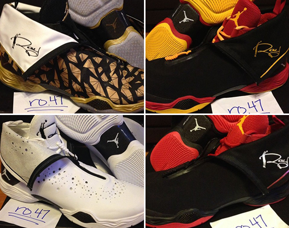 4 Ray Allen Air Jordan XX8 PEs   Available on eBay