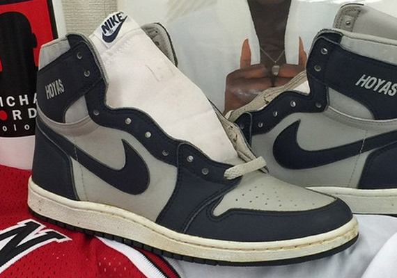 Hoyas Air Jordan 1 from 1985
