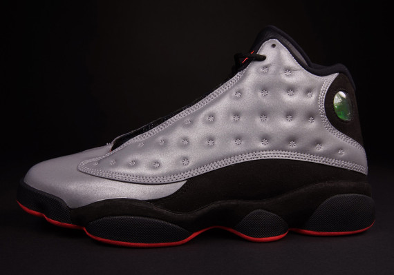 Air Jordan 13: Reflective   Arriving at Retailers